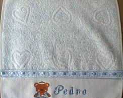 Toalha de boca para beb� em Ponto Cruz