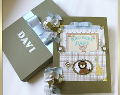 Album Bebe Scrap Di�rio Safari Davi