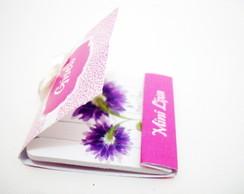 Mini lixa Personalizada - Oncinha Rosa