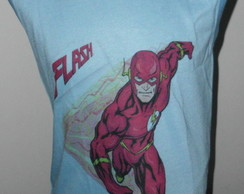 Camiseta regata infantil The Flash