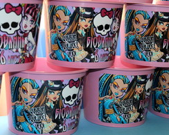 Balde Pipoca Monster High