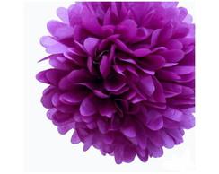 Pompom Violeta - FRETE GR�TIS - 5 unid.