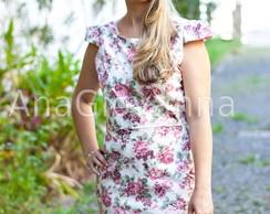 Vestido Floral Rose Adulto