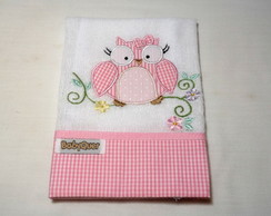 Babita Bordada - Corujinha (rosa)