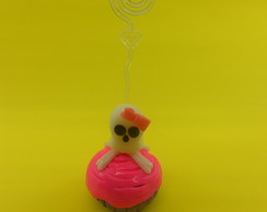 Porta retrato cup cake - Monster Hight