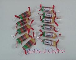100 Sabonetes Mini Balas De Goma