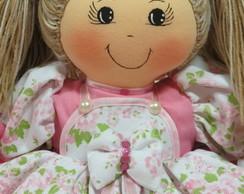 Boneca De Pano 50 Cm