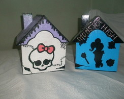 Mdf Monster High - Casinhas
