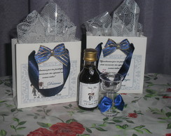 MINI VINHO DECORADO