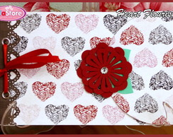 Mini �lbum Love - Heart Flourishs