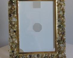 Porta Retrato Ouro M�e 667