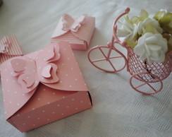 Caixinha borboleta para doce /bem casado