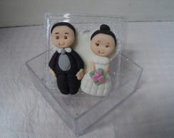 Lembran�a de casamento Noivinhos