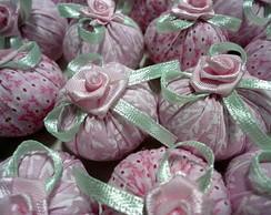 Petit Sachet - verde/rosa