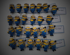 Lembrancinha Minions Biscuit