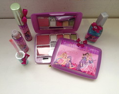 Kit De beleza barbie princesa e popstar