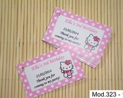Tags Lembrancinhas Hello Kitty