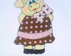 Pano De Prato Pretty Piggie VI