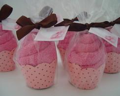 (LC 0212k) Cup cake de toalha