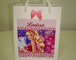 Sacolinha Personalizada Barbie