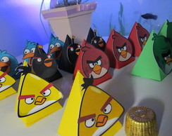Caixa Triangular Angry Birds