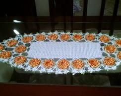 centro de mesa de croch�