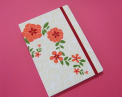 Sketchbook 14 X 20 - Floral Rosa (2)