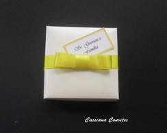 Convite de Casamento Jornal La�o Amarelo