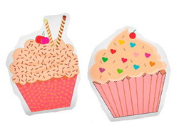 Kit com 2 Toys Cup Cake