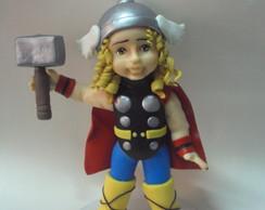 Topo de bolo Thor