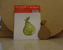 Apliques Frutas Em Papel E Mdf