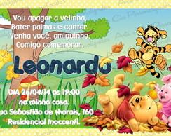 Convite Personalizado - Ursinho Pooh 6