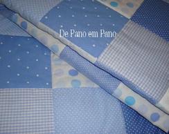 Edredon de Ber�o Po� Azul