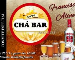 Convite Ch� De Panela / Ch� Bar 02