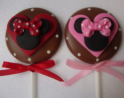 PIRULITO DE CHOCOLATE MINNIE