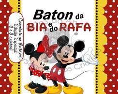 Baton do Mickey e da Minnie
