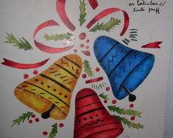 Molde vazado natalino f�cil