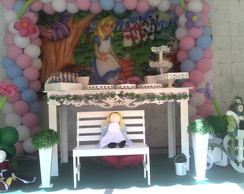 Festa da Alice no pa�s das maravilhas