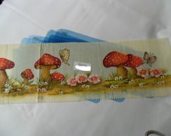 Moldes vazados para pintura em tecido