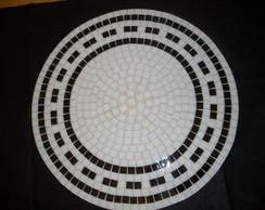 Prato girat�rio Mosaico 50cm