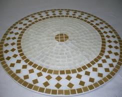 Prato Girat�rio mosaico 60cm