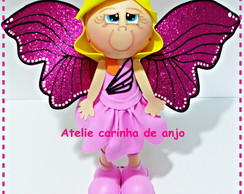 Fofucha Barbie butterfly