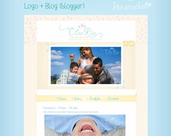 Logo + Template Layout Para Blog - Blogg