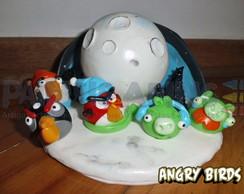 Topo de Bolo Angry Birds Seasons