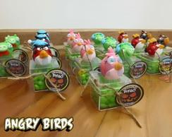Caixinhas de acr�lico Angry Birds