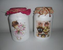 potes de vidro cozinha (vendido)