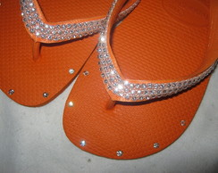 HAV. TOP C/ SWAROVSKI ORANGE- MADRINHAS