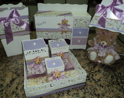 Kit Higien� 7 pe�as Mdf Personalizado