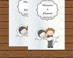 R�tulo Para Bisnaga - Casamento