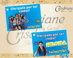 Tag para lembrancinha Chiquititas